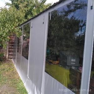 Мягкие окна с цветной рамкой. От: