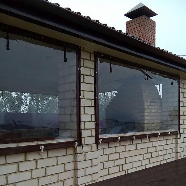 Мягкие окна для капитальных строений. От:
