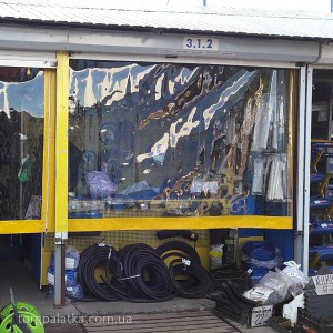Мягкие окна для магазина / контейнера. От: