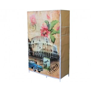 Тканевый шкаф кофр для одежды «D6-105-06 Колизей»