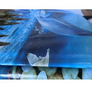 Шкаф с тканевым чехлом «D6-05 Дельфины», 6 полок
