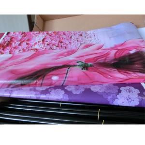 Шкаф кофр тканевый с рисунком «D6-03 Сакура»