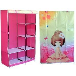 Тканевый шкаф кофр для одежды «D6-105-04 Аниме»