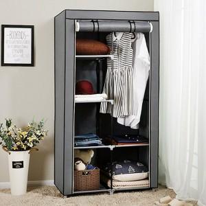 Складной тканевый шкаф органайзер «8890 gray»