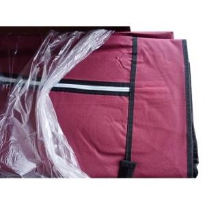 Шкаф сборной с тканевым чехлом «8890 bordo»