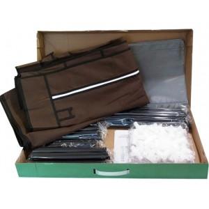 Портативный шкаф органайзер для хранения вещей и обуви «T-2712»