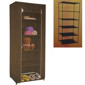 Шкаф тканевый сборный «Home», 5 полок