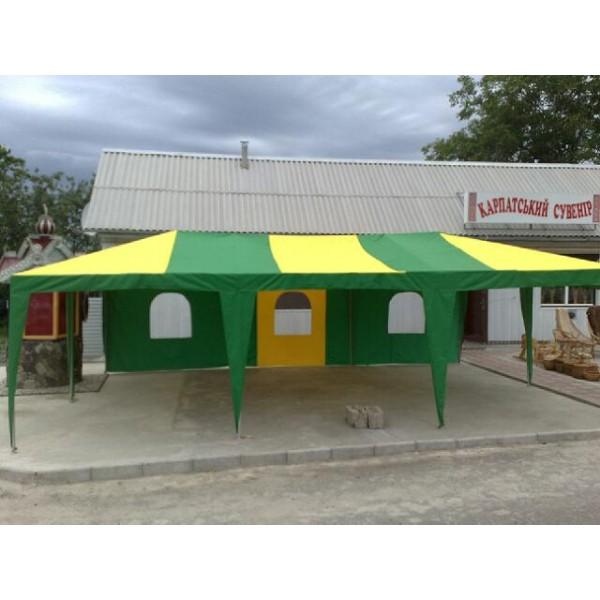 тканевой шатёр с полукруглыми окнами. Цена за м².
