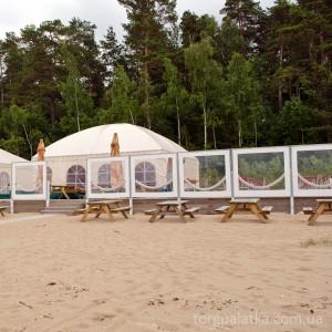 Большие шатры ПВХ (под заказ). Цена за м². От: