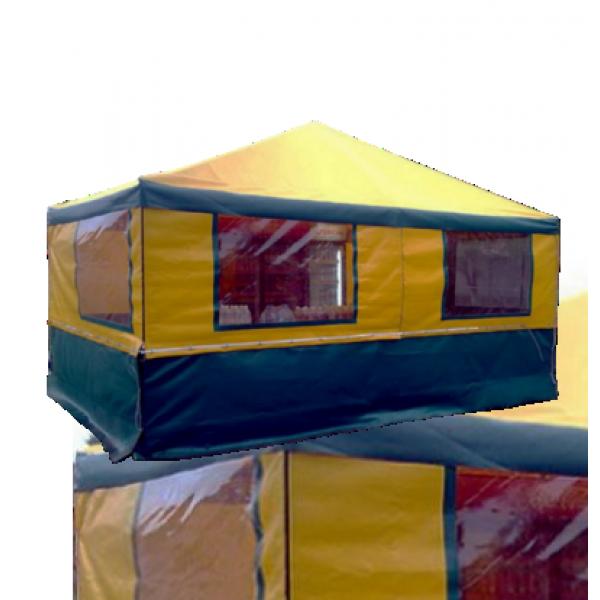Шатер ПВХ с окнами или прозрачными стенами (любой размер - под заказ). Цена за м².