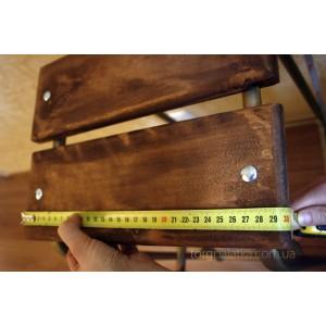 Табурет стремянка с деревянной площадкой