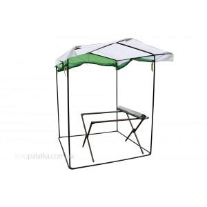Торговый комплект 1,5м х 1,5м палатка (каркас 20мм) + 1м стол