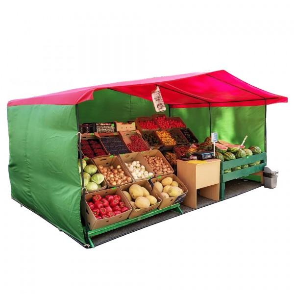 Торговая палатка 4м х 3м (каркас 20мм)
