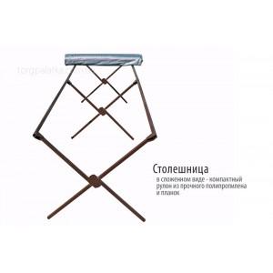 Стол с квадратным профилем 2,5 м х 1 м