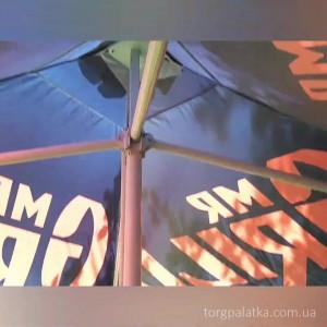 Зонт (Украина) 3х3 с печатью / без. Цена от: