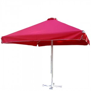 Зонт (Украина) квадрат 3х3 с рюшей