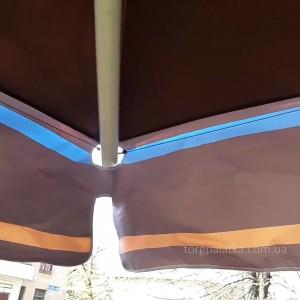 Зонт (Украина) квадрат 4х4 с рюшей
